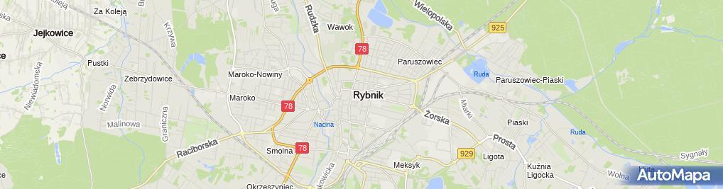 Zdjęcie satelitarne Cukiernia Krzysztof Kuźnik