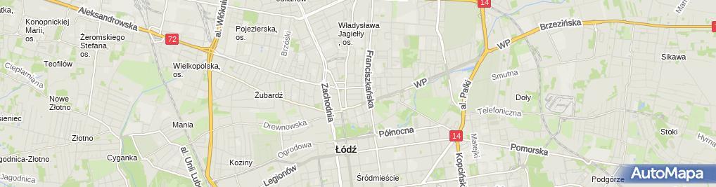 Zdjęcie satelitarne Iwodent Gabinet Stomatologiczny