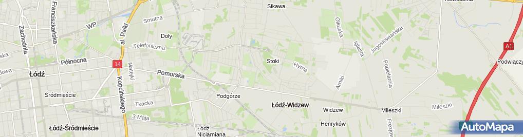 Zdjęcie satelitarne Dom Małego Dziecka