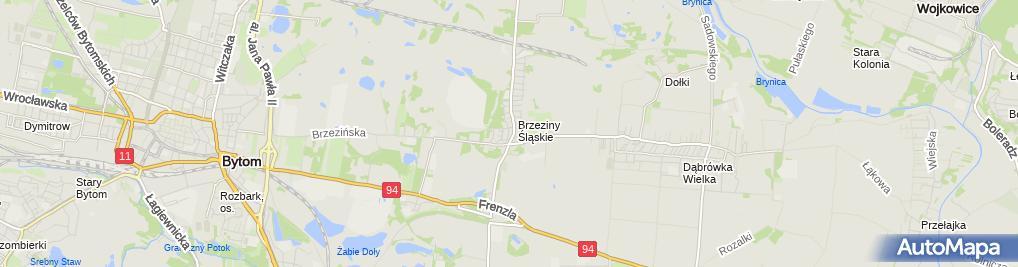 Zdjęcie satelitarne NZOZ Ewa-Med
