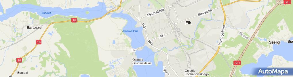Zdjęcie satelitarne Gothaer Towarzystwo Ubezpieczeń