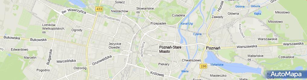 Zdjęcie satelitarne UAM