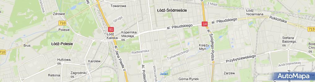 Zdjęcie satelitarne Ubezpiezpieczenia ING