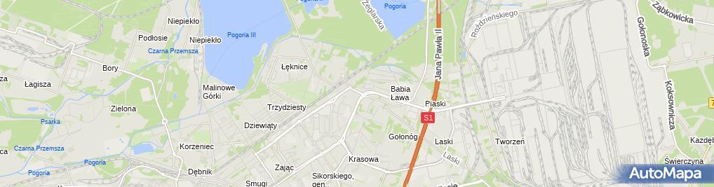 Zdjęcie satelitarne Intermarche