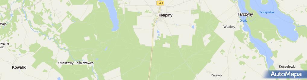 Zdjęcie satelitarne Jazda konna, Stadnina