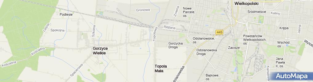 Zdjęcie satelitarne Akcesoria Jeździeckie