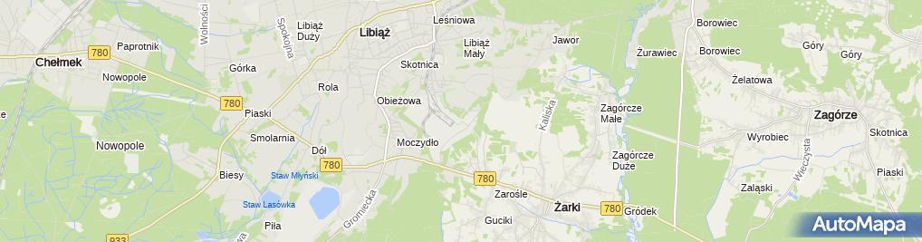 Zdjęcie satelitarne PKW S.A. Zakład Górniczy Janina