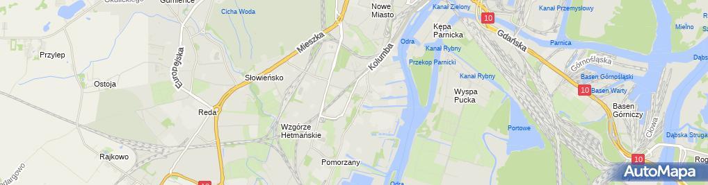 Zdjęcie satelitarne KRUS
