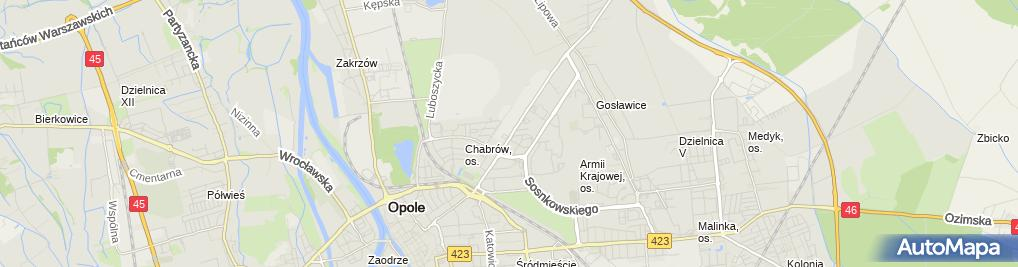 Zdjęcie satelitarne Circle K