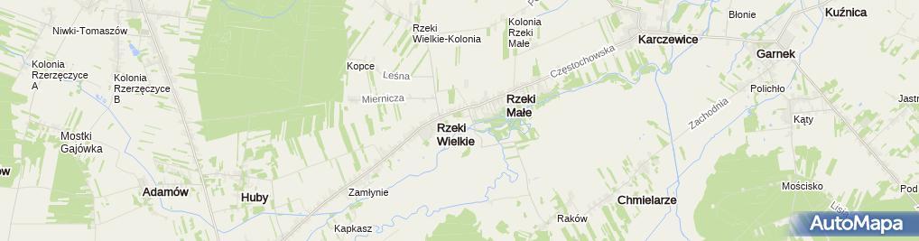 Zdjęcie satelitarne Dwór Chrzanowskich