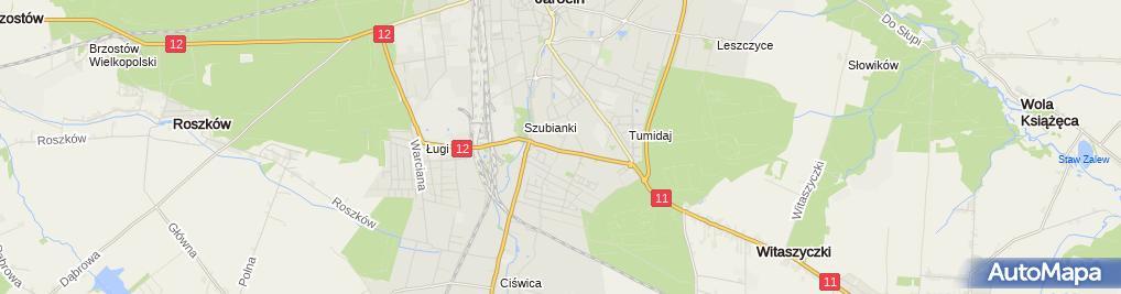 Zdjęcie satelitarne Pizzeria Stodoła