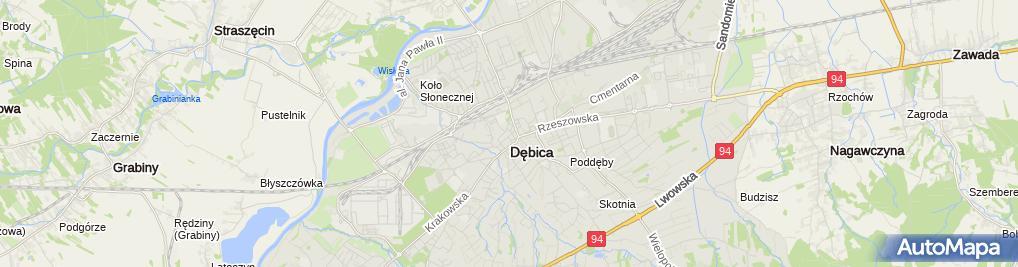 Zdjęcie satelitarne PKO BP