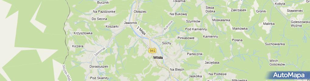 Zdjęcie satelitarne Hotel Gołebiewski