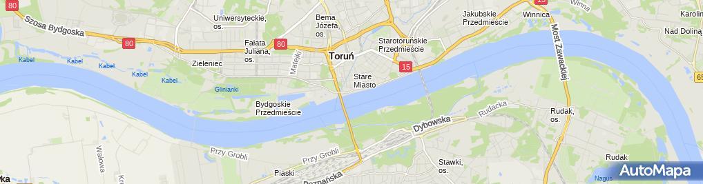 Zdjęcie satelitarne Kotwica
