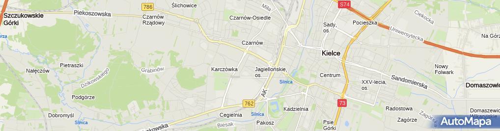Zdjęcie satelitarne Deco Mark Renowacja Marek Kornafel