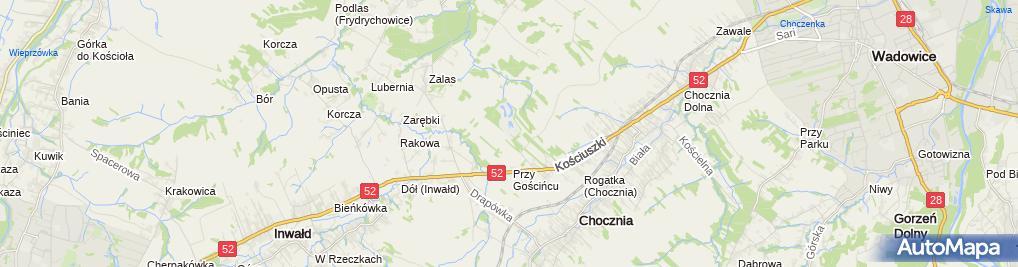 Zdjęcie satelitarne EKO Sp. z o.o. Wysypisko Odpadów Komunalnych