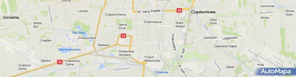 Zdjęcie satelitarne Ema Partnerzy Adrian Moskalik