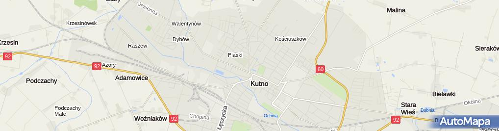 Zdjęcie satelitarne F.H.U.Iwona Iwona Makuła