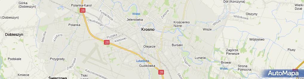 Zdjęcie satelitarne Fundacja Otwartych Serc im Bogusławy Nykiel Ostrowskiej