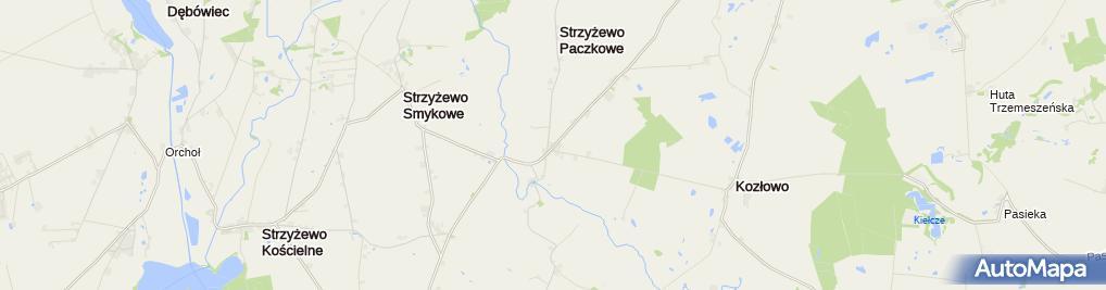 Zdjęcie satelitarne Krystian Gadziński K.G.H.-Stal