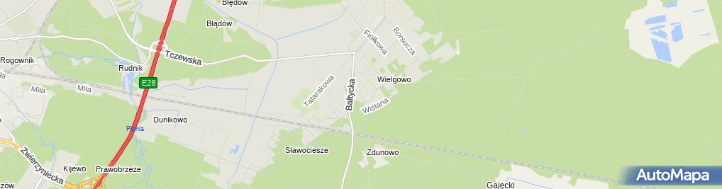Zdjęcie satelitarne MI Pak Walas Witold