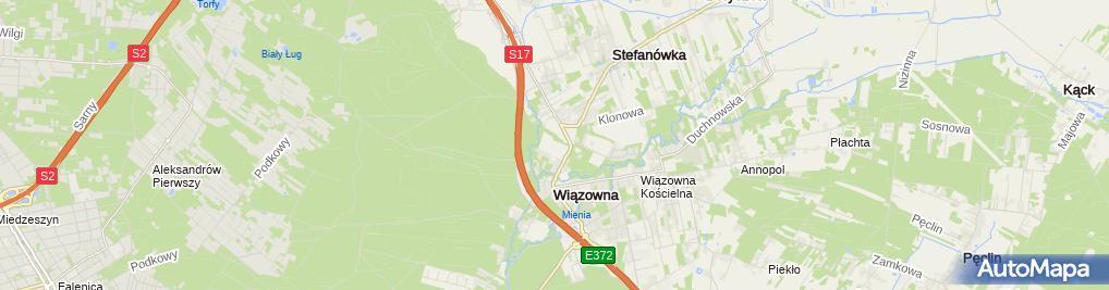 Zdjęcie satelitarne Mirhan PHU Mirosław Kwiatkowski