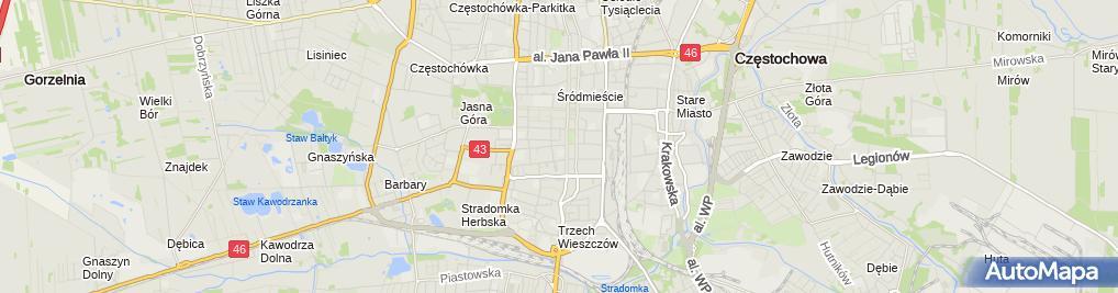 Zdjęcie satelitarne Protex Marcin Hofmański