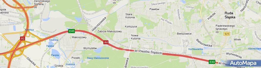 Zdjęcie satelitarne Rawo Rajmund Węgrzyn, Wojciech Smyczek, Marcin Żur