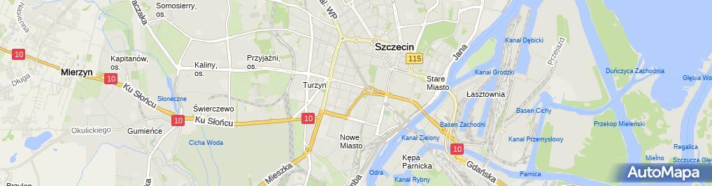 Zdjęcie satelitarne Reklama Wizualna Alina Grabowska