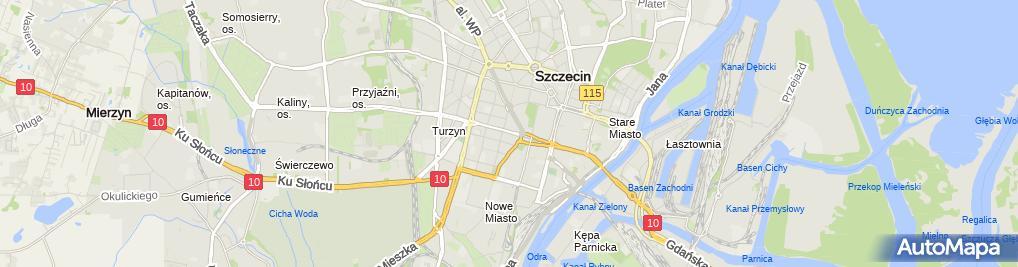 Zdjęcie satelitarne Usługi Inżyniersko-Budowlane Szymon Bekier