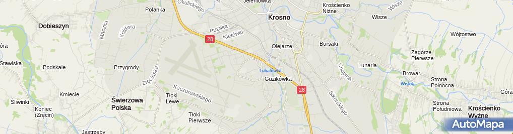 Zdjęcie satelitarne NZOZ SPECMED