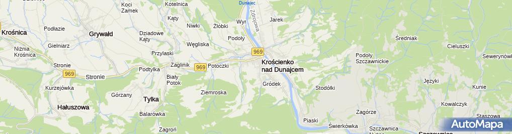 Zdjęcie satelitarne Ośrodek Zdrowia