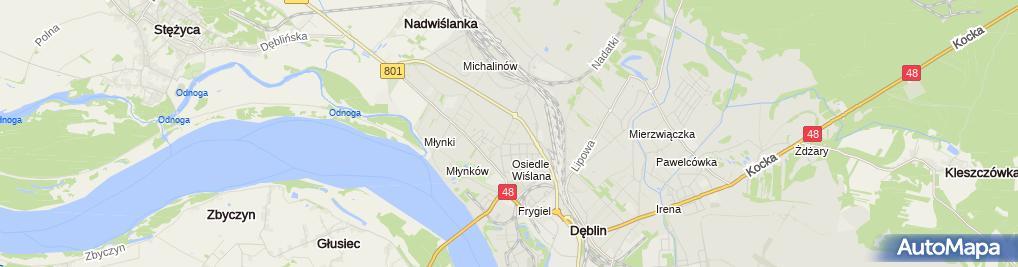 Zdjęcie satelitarne Ewex