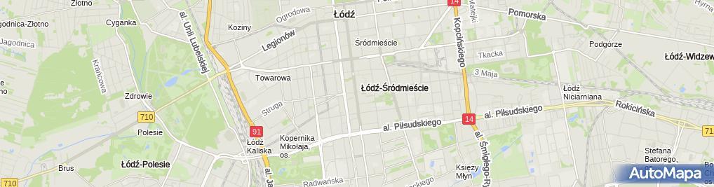Zdjęcie satelitarne Restauracja Esplanada