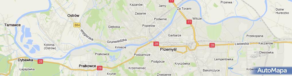 Zdjęcie satelitarne Restauracja M. Tomaszewska