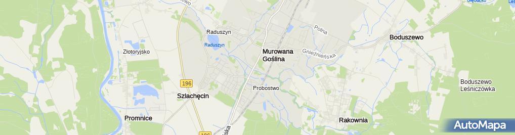 Zdjęcie satelitarne Restauracja Relax