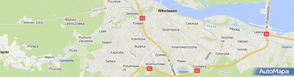 Zdjęcie satelitarne Porządny Przemysław