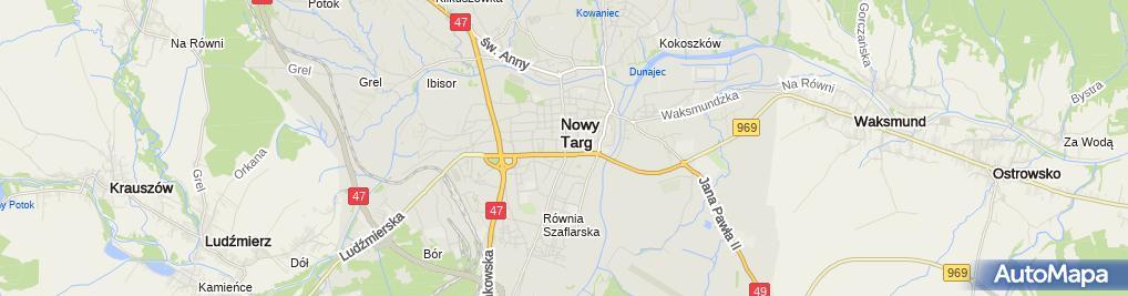 Zdjęcie satelitarne Serwis RTV-AGD