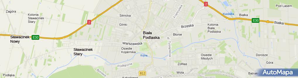 Zdjęcie satelitarne Serwis RTV