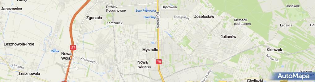 Zdjęcie satelitarne Ruch