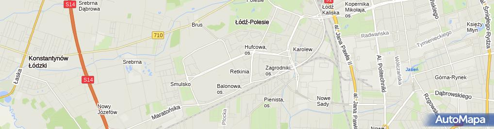Zdjęcie satelitarne Kościół p.w. Najświętszego Serca Jezusowego