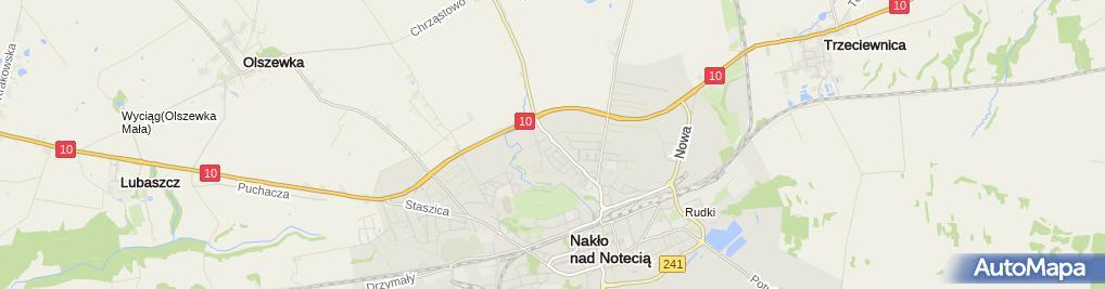 Zdjęcie satelitarne Najświętszej Maryi Panny Królowej Polski