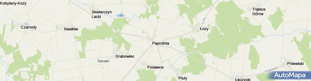 Zdjęcie satelitarne św. Bartłomieja Apostoła