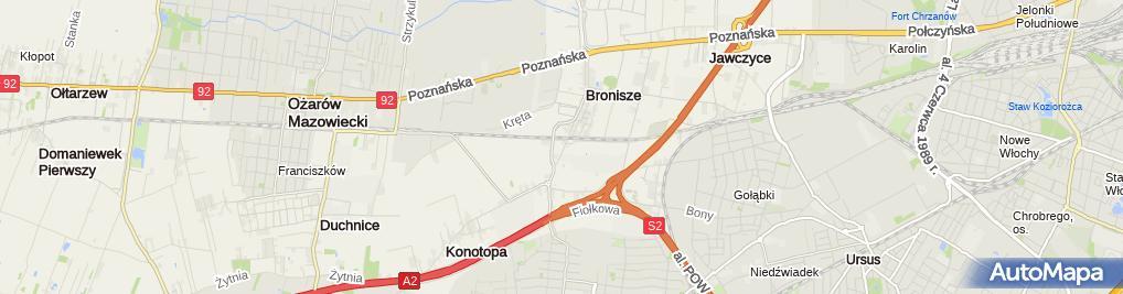 Zdjęcie satelitarne Agromix-Bis sp.j.
