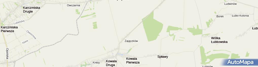 Zdjęcie satelitarne Zakład Ślusarsko-Spawalniczy Hanys Piotr Ślązak