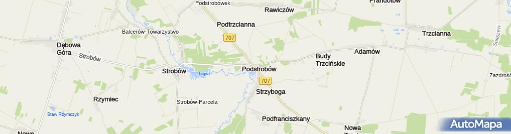 Zdjęcie satelitarne Twoja Stacja - Małgorzata, Lech, Łukasz Grzejszczak