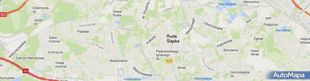 Zdjęcie satelitarne Straż Graniczna