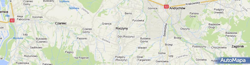 Zdjęcie satelitarne SP im. Mieszka I w ZSS