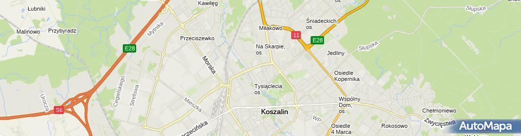 Zdjęcie satelitarne SP nr 4