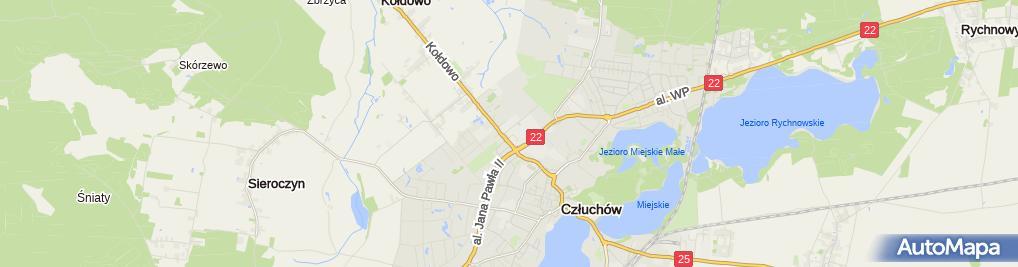 Zdjęcie satelitarne Sportowa